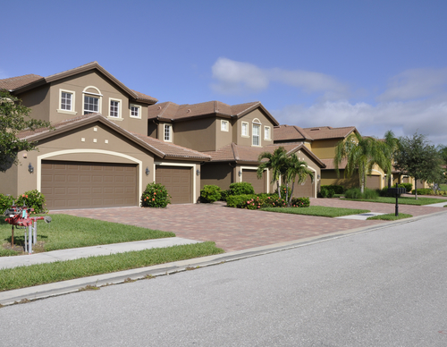 Typical homes in florida
